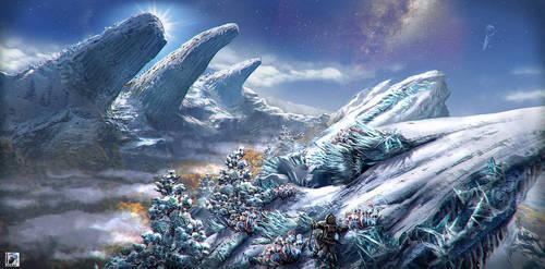 Grimm Odds - Snowy Peaks by FranzowaR