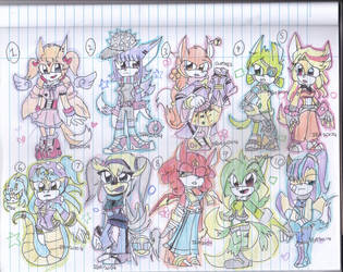 Sonic Adoptables - female - paypal only -- open by IBA2004