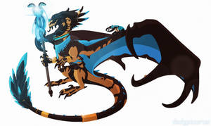 [Character Auction] Dragon Mage [closed] by Dinkysaurus