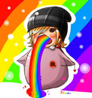 Pukin' Rainbows by Klaziki