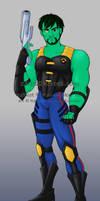 ReBoot comic - Matrix profile by wings33