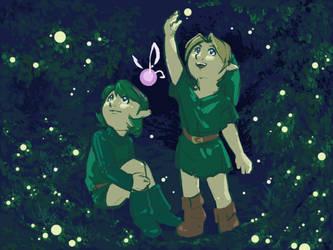 Fireflies - OoT by wings33