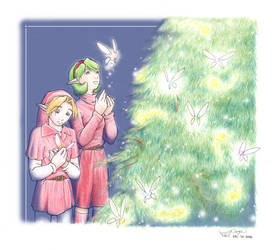 -A Zelda Christmas- by wings33
