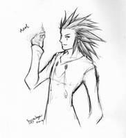 Axel sketch by wings33