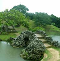 bridges in shikina-en by mishkuu