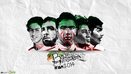 Team Meli   Iran National Team by zinodesign