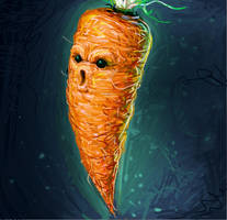 Ghost Carrot by IsidorSwande