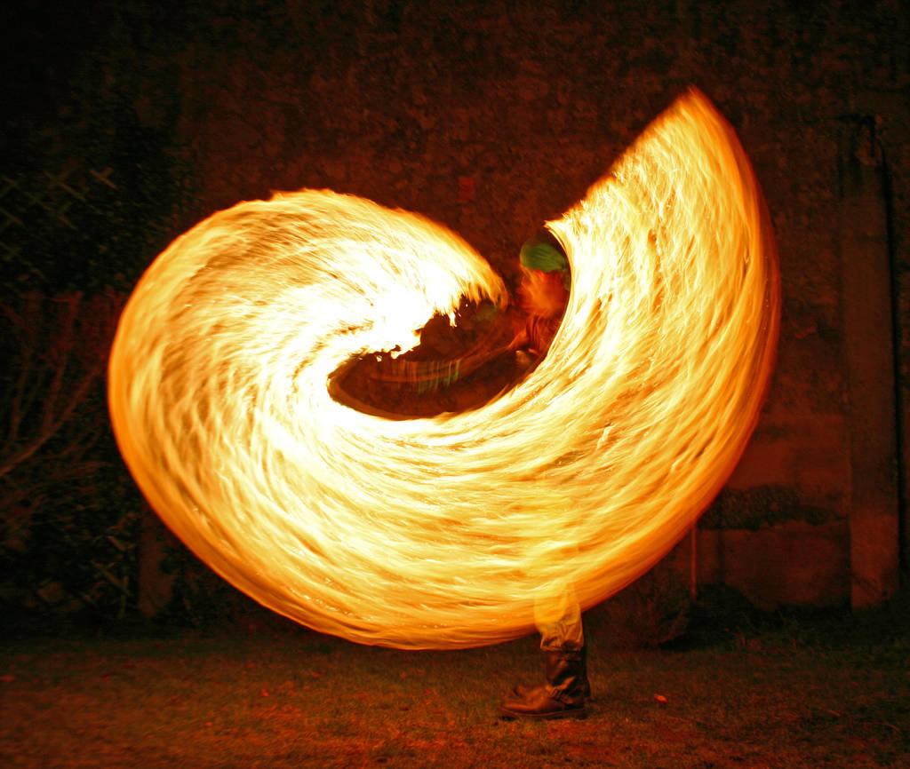 Fire Swirl by MD-Arts
