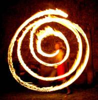 Fire Spiral II by MD-Arts