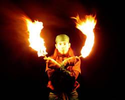 Fire Scimitars by MD-Arts