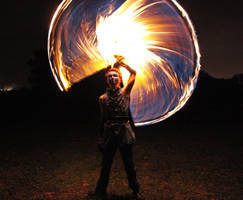 Riding Whip of Fire - I by MD-Arts