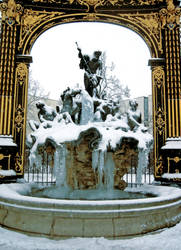 Frozen Fountain by MD-Arts