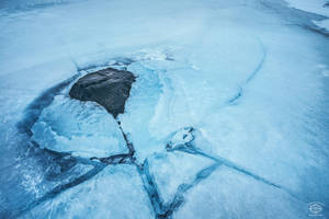 Frozen Iceland by MD-Arts