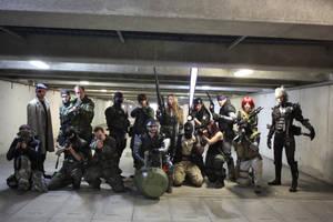MGS saga cosplay 1 by M4n1nm1rr0r