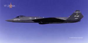 Northrop YF-23 PAV-1 by supacruze