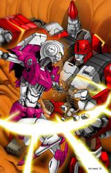 Transformers - Arcee vs Magnus by Ahrrr