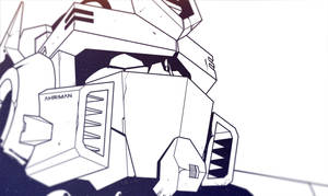 Optimus Prime sketch by Ahrrr