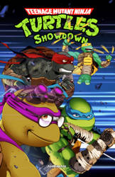 TMNT: Showdown - Cover page by Ahrrr