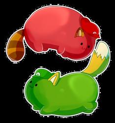 Bean bros by Dragonpotato56