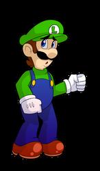 Luigi Smash (collab ) by Dragonpotato56