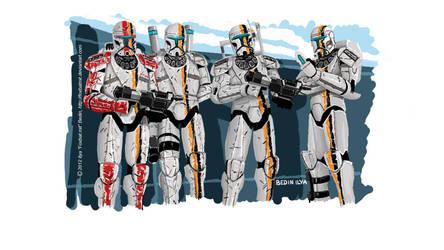 Republic Commando Ion Team by FoxbatMit