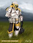 Star Wars Republic Commando HOPE Squad commission by FoxbatMit