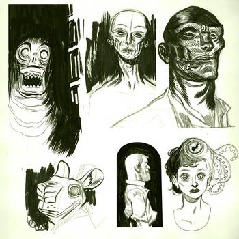 Doodles by dietrock