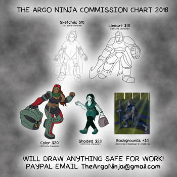 Commission Chart 2018 by TheArgoNinja