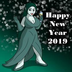 Yadei's New Years by TheArgoNinja