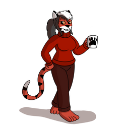 Commission - HotHead Sweater by TheArgoNinja