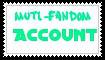 Muti fandom account by Sapphire-Asters