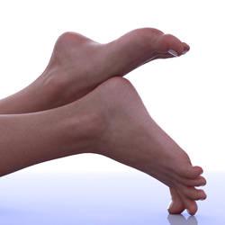 Ellen's Feet: As real as it gets by restif