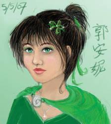 Green Girl by AznPhishy