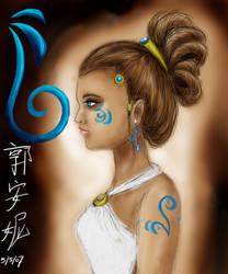 Blue Girl2 by AznPhishy