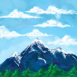 Mountains by AznPhishy