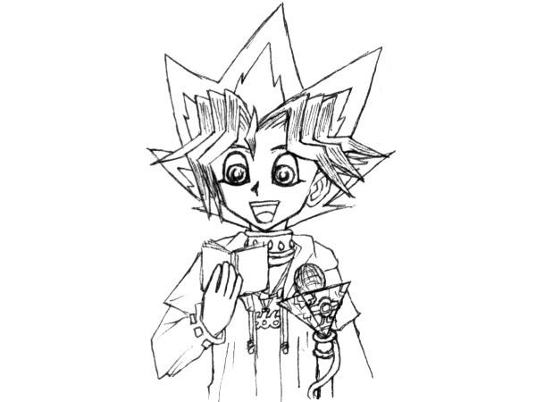 Yugi and a Mike - Li Jianliang by False-Memories