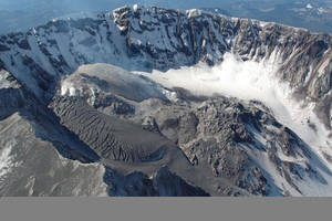 Mt. St.Helens Crater by Mytebemagick