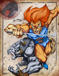 Thundercats Attack by sagast