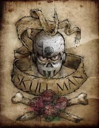 Skull Man  Mega Man Tribute by sagast