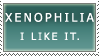 plain xenophilia stamp by In-Tays-Head