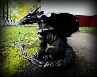 Smoke Dragon by Santani