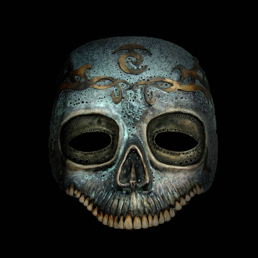 Death Eaters mask 2 by Santani