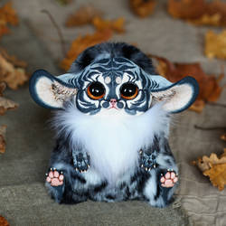 Inari Fox: Gray Tiger by Santani