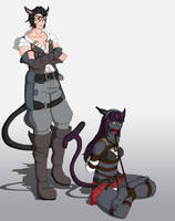 Roitsu and Pyha commission by Wing-Saber