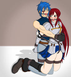 Erza and Jellal CiD by Wing-Saber