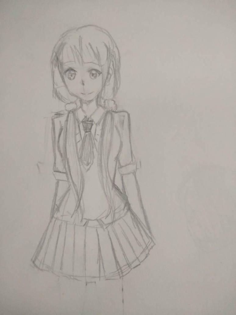 Random sketch  by CJSmileyz