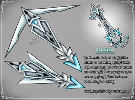Arrowhead Keyblade Transformation (2017) by ExusiaSword