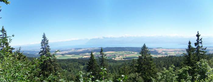 Landscape from Switzerland 2 by joho972