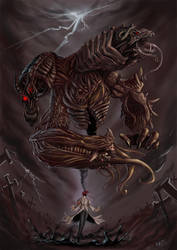 Sin the genocidal scientist by crypt-lord