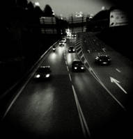 imbocco autostradale. by Dronevil